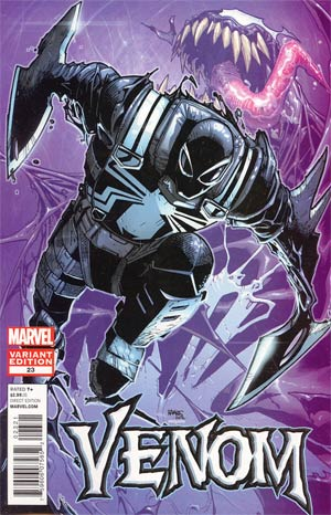 Venom Vol 2 #23 Incentive Humberto Ramos Variant Cover