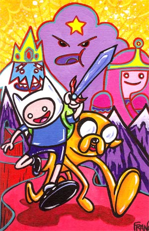 Adventure Time #7 Cover C Incentive Franco Virgin Variant Cover