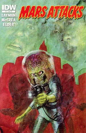 Mars Attacks Vol 3 #3 Incentive Michael Gaydos Variant Cover