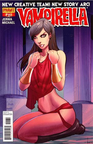 Vampirella Vol 4 #21 Incentive Ale Garza Risque Art Variant Cover