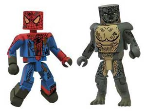Marvel Minimates Amazing Spider-Man Movie Sewer 2-Pack SDCC 2012 Exclusive
