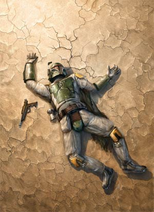Star Wars Blood Ties Boba Fett Is Dead Retailer Incentive Print