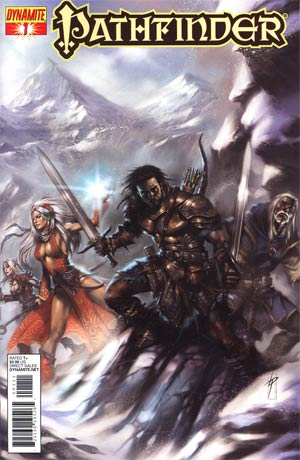 Pathfinder #1 Regular Lucio Parrillo Cover