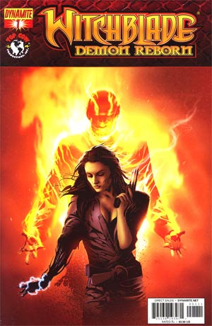 Witchblade Demon Reborn #1 Regular Dennis Calero Cover