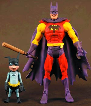 DC Unlimited Planet X Batman With Batmite 6-Inch Action Figure