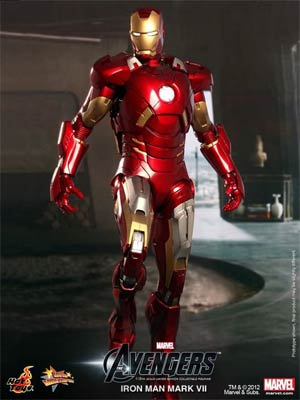 Avengers Movie Iron Man Mark VII 12-Inch Action Figure