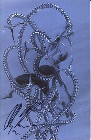 Amazing Spider-Man Vol 2 #600 DF Exclusive Alex Ross Grey Cover Signed By Alex Ross