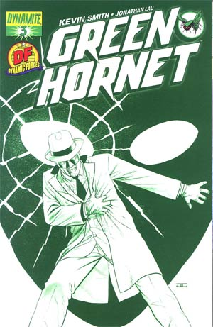Kevin Smiths Green Hornet #3 DF John Cassaday Cool Green Cover