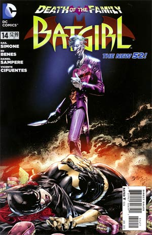 Batgirl Vol 4 #14 Cover A 1st Ptg (Death Of The Family Prelude)