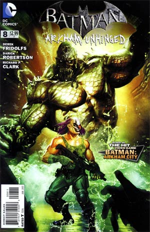 Batman Arkham Unhinged #8