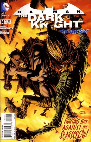 Batman The Dark Knight Vol 2 #14 Regular David Finch Cover