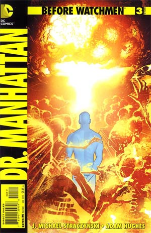 Before Watchmen Dr Manhattan #3 Regular Adam Hughes Cover