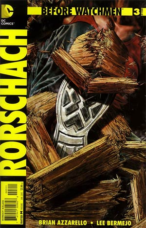 Before Watchmen Rorschach #3 Regular Lee Bermejo Cover