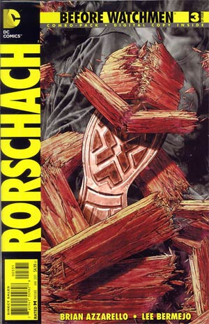 Before Watchmen Rorschach #3 Combo Pack With Polybag