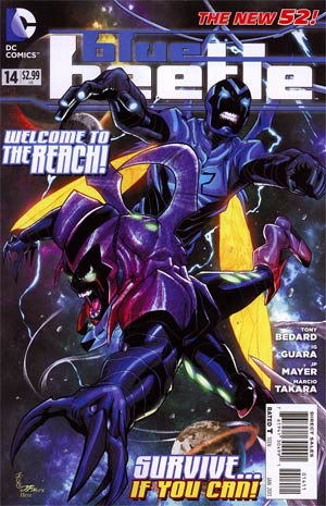 Blue Beetle (DC) Vol 3 #14