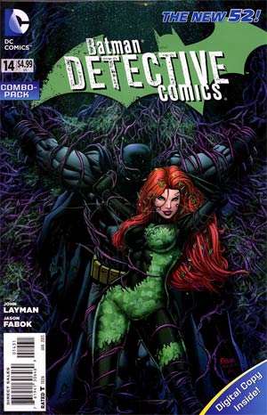 Detective Comics Vol 2 #14 Combo Pack With Polybag