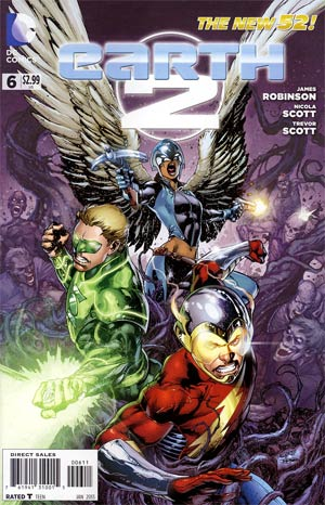 Earth 2 #6 Regular Ivan Reis Cover