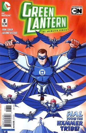 Green Lantern The Animated Series #8