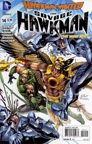 Savage Hawkman #14 (Hawkman Wanted Part 1)