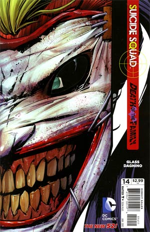Suicide Squad Vol 3 #14 1st Ptg (Death Of The Family Tie-In)