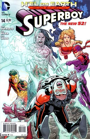 Superboy Vol 5 #14 (Hel On Earth Part 2)