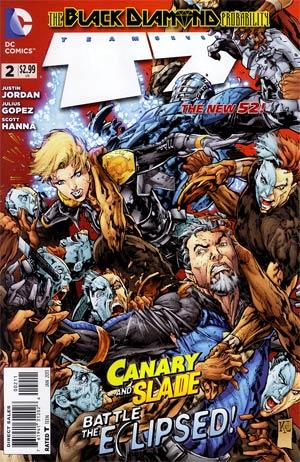 Team 7 Vol 2 #2 Cover A Regular Doug Mahnke Cover