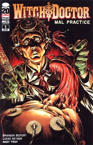 Witch Doctor Mal Practice #1 Regular Lukas Ketner Cover