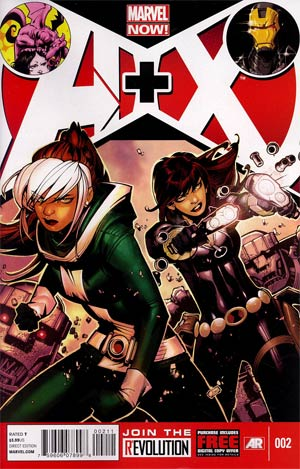 A Plus X #2 Regular Kaare Andrews Cover