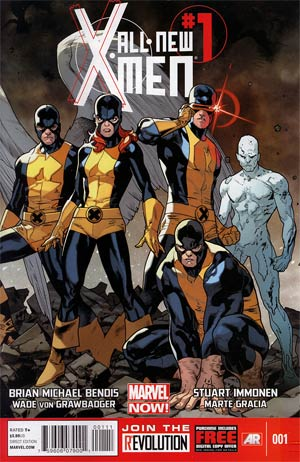 All-New X-Men #1 Regular Stuart Immonen Cover