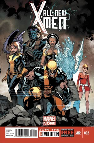 All-New X-Men #2 1st Ptg Regular Stuart Immonen Cover