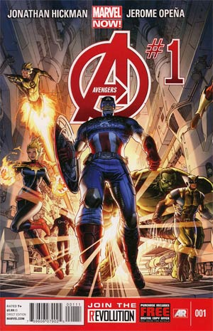 Avengers Vol 5 #1 1st Ptg Regular Dustin Weaver Cover