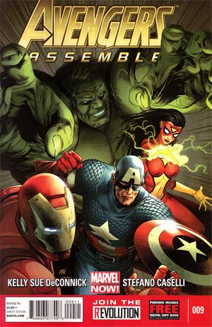 Avengers Assemble #9 Regular Steve McNiven Cover