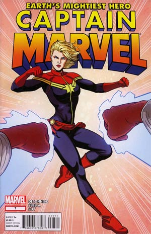 Captain Marvel Vol 6 #7