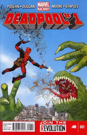 Deadpool Vol 4 #1 1st Ptg Regular Geof Darrow Cover