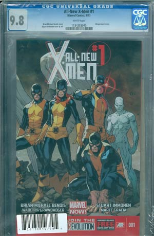 All-New X-Men #1 DF CGC 9.8