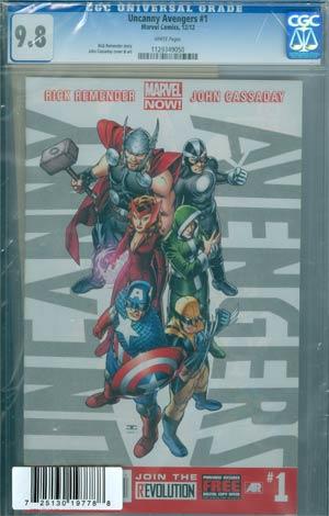 Uncanny Avengers #1 DF CGC 9.8