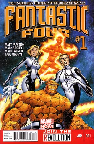 Fantastic Four Vol 4 #1 Regular Mark Bagley Cover