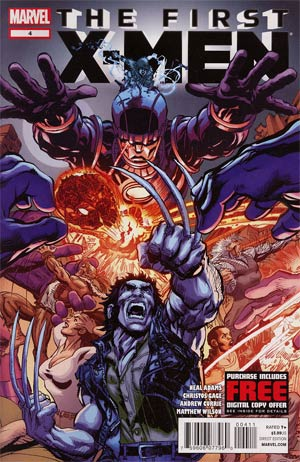 First X-Men #4 Regular Neal Adams Cover