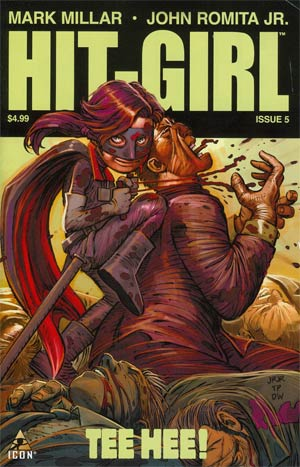 Hit-Girl #5 Regular John Romita Jr Cover