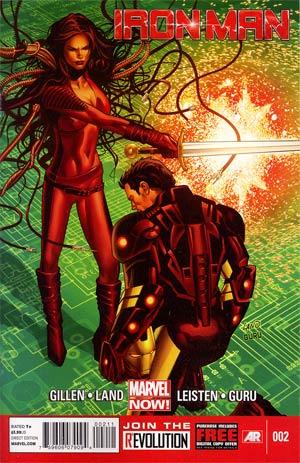 Iron Man Vol 5 #2 Regular Greg Land Cover