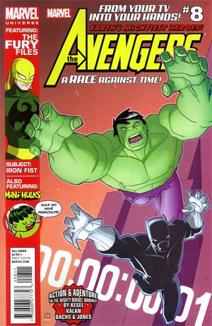 Marvel Universe Avengers Earths Mightiest Heroes #8