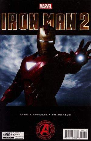 Marvels Iron Man 2 Adaptation #1