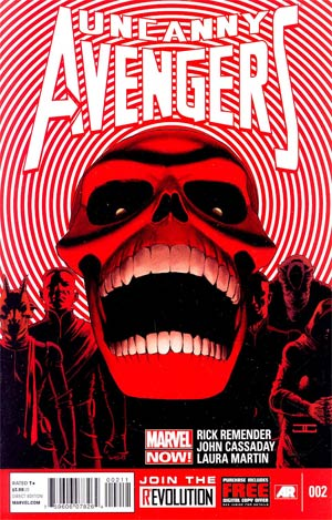 Uncanny Avengers #2 Regular John Cassaday Cover