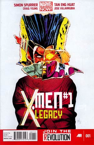 X-Men Legacy Vol 2 #1 Regular Mike Del Mundo Cover