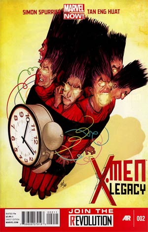 X-Men Legacy Vol 2 #2 Regular Mike Del Mundo Cover