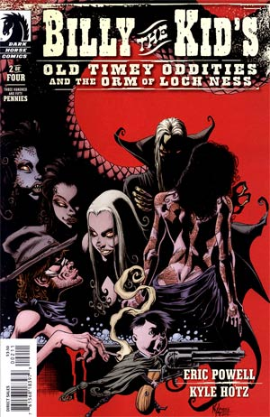 Billy The Kids Old Timey Oddities And The Orm Of Loch Ness #2