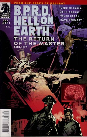 BPRD Hell On Earth Return Of The Master #4 (101) Regular Ryan Sook Cover