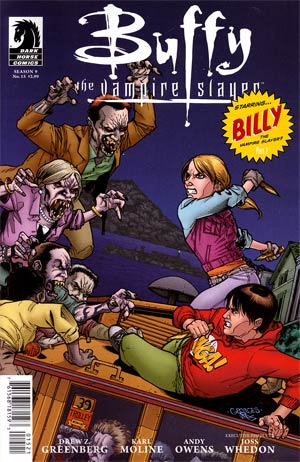 Buffy The Vampire Slayer Season 9 Freefall #15 Variant Georges Jeanty Cover
