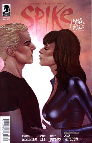 Buffy The Vampire Slayer Spike #4 Regular Jenny Frison Cover