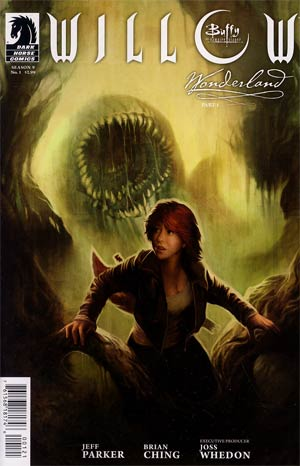 Buffy The Vampire Slayer Willow Wonderland #1 Variant Megan Lara Cover